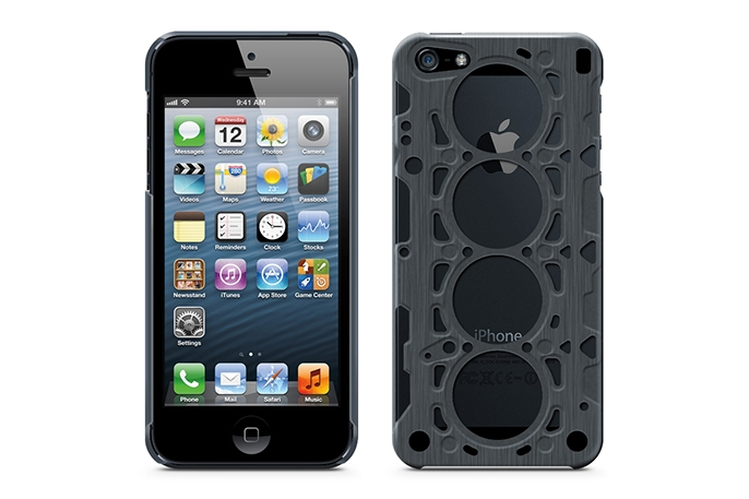 ID America V8 Gasket Case for iPhone 5