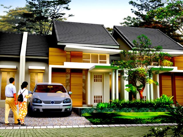Gambar 1 Rumah Minimalis type 45