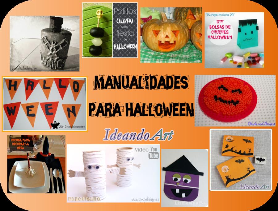 Manualidades Vistosas.10 Manualidades Para Tu Fiesta De Halloween Manualidades