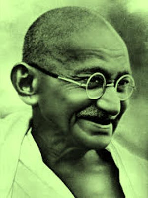 Gandhi is a seductive surname