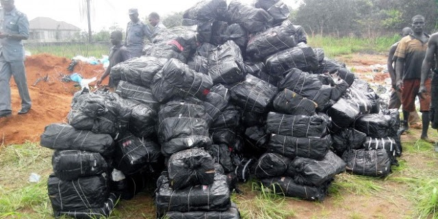 Customs destroys N12.8million imported frozen poultry