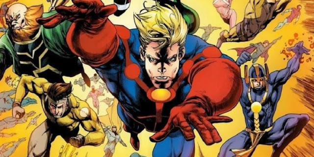Film The Eternals dari Marvel Mulai Syuting Bulan Agustus