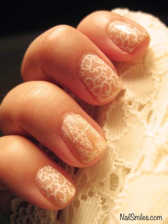 Romantic Wedding Nail Designs Elegant Nail Art Ideas for Brides ...