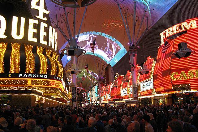 Freemont Street Experience - Las Vegas