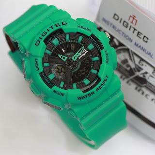 Jual Jam Tangan Digitec warna hijau