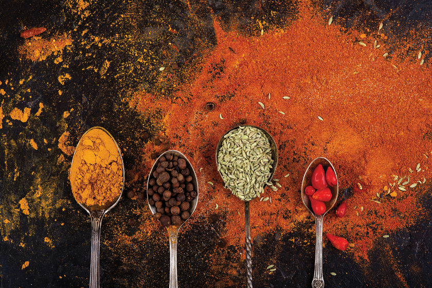 Curry spices by Laka kuharica