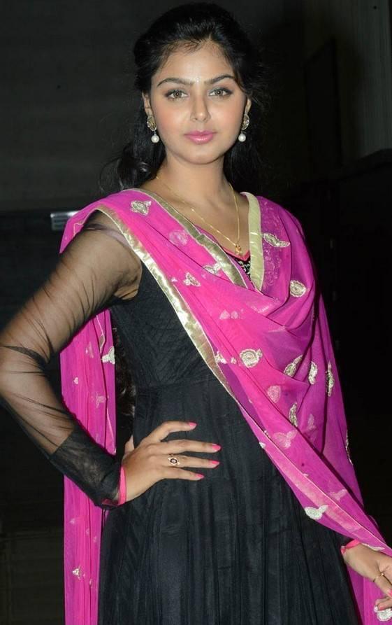 Beautiful Gujarati Girl Monal Gajjar Photos In Black Dress