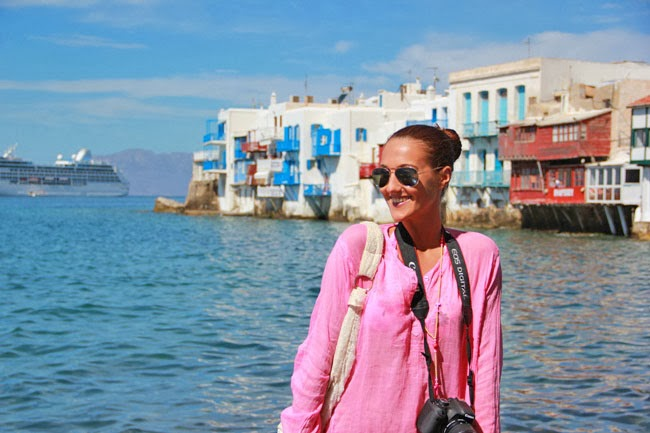Little Venice Mykonos visit, tips and guide