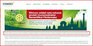 Stimuno Untuk Balita Suplemen Herbal Sertifikat Fitofarmaka