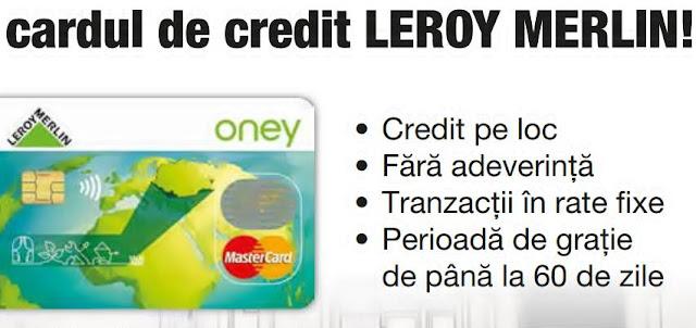 forum pareri cardul de credit leroy merlin rate fixe credit pe loc