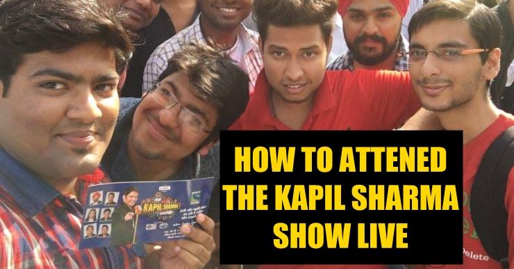 Entry Tickets for The Kapil Sharma Show 2017 ? - I Love Amritsar