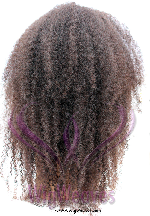 Bohemian Kinky Hair U-Part Wig