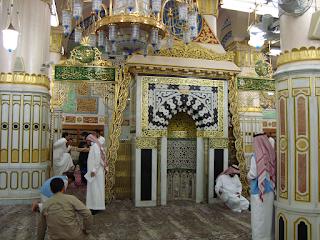 Mihrab%2BNabawi Doa di Raudhah, Masjid Nabawi