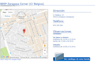 Beep Zaragoza Corner