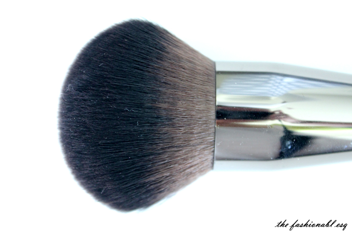 synthetic fiber brushes makeup