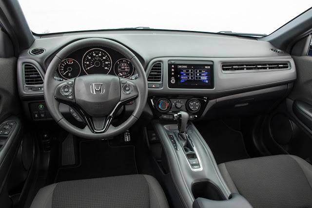 Novo Honda HR-V 2019 - interior