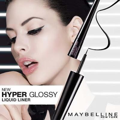 Cantik Menarik Dengan Memakai Eye Liner Maybeline