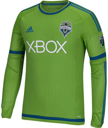 huge selection of 98c2d 9ff9a Seattle Sounders 2015 Home and Away Jerseys Released ...