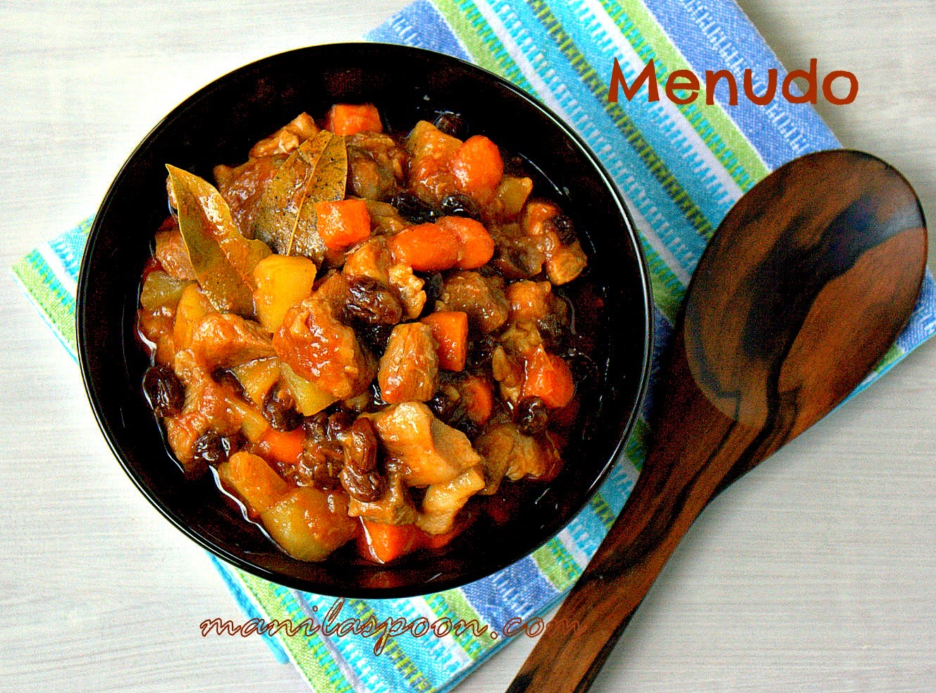 how to cook filipino food menudo