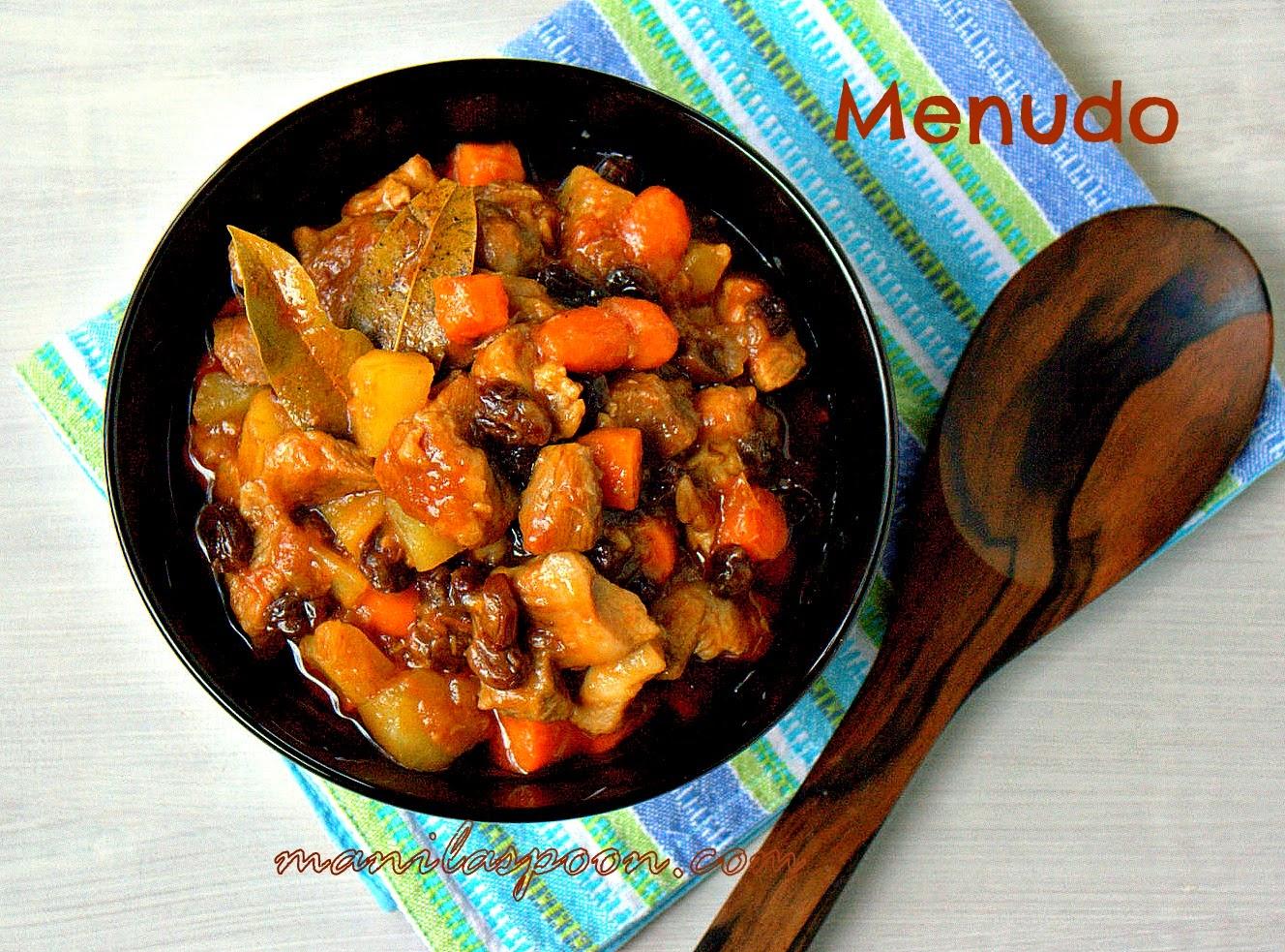 Pork or Beef Menudo