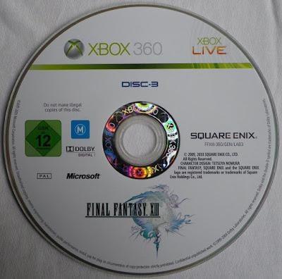 Final Fantasy XIII - Disco 3