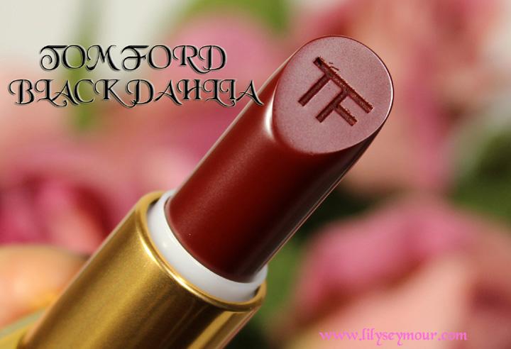 Tom Ford Black Dahlia Lipstick Holiday 2014