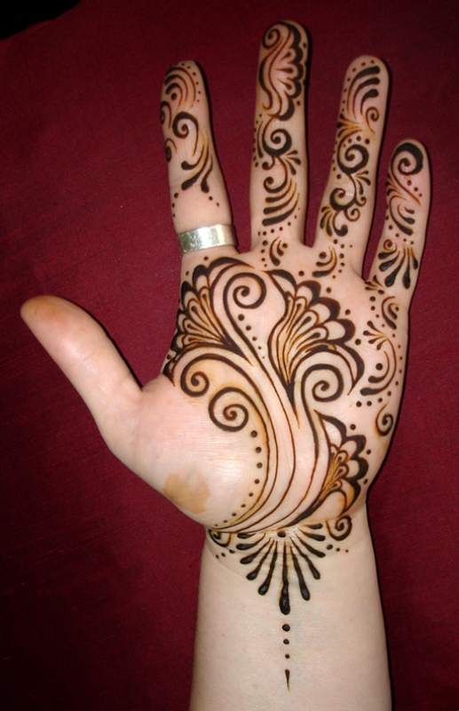 Gallery For gt Easy Henna Designs Palm