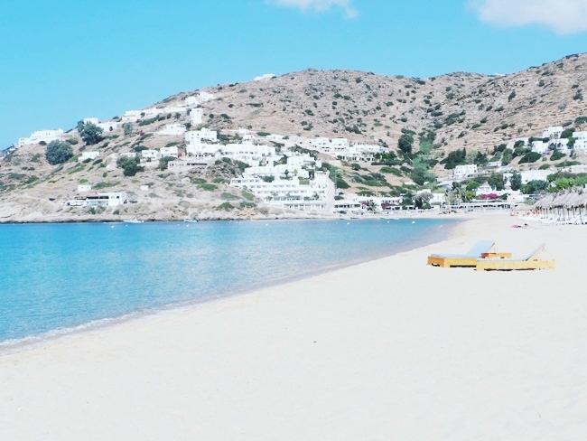 Mylopotas beach Ios island