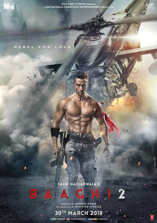 Baaghi 2 2018 Full Hindi Movie Download HDRip 720p