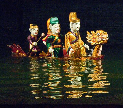 water puppet show hanoi vietnam
