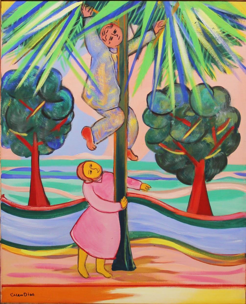 A Colheita - Cícero Dias e suas principais pinturas ~ Pintor pernambucano
