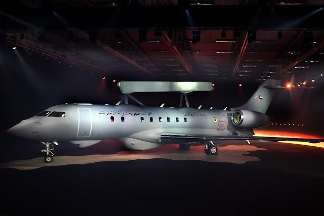 Saab unveils Globaleye airborne aircraft