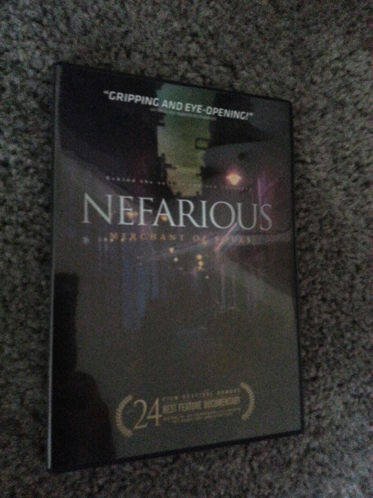 Freebie Friday: Nefarious