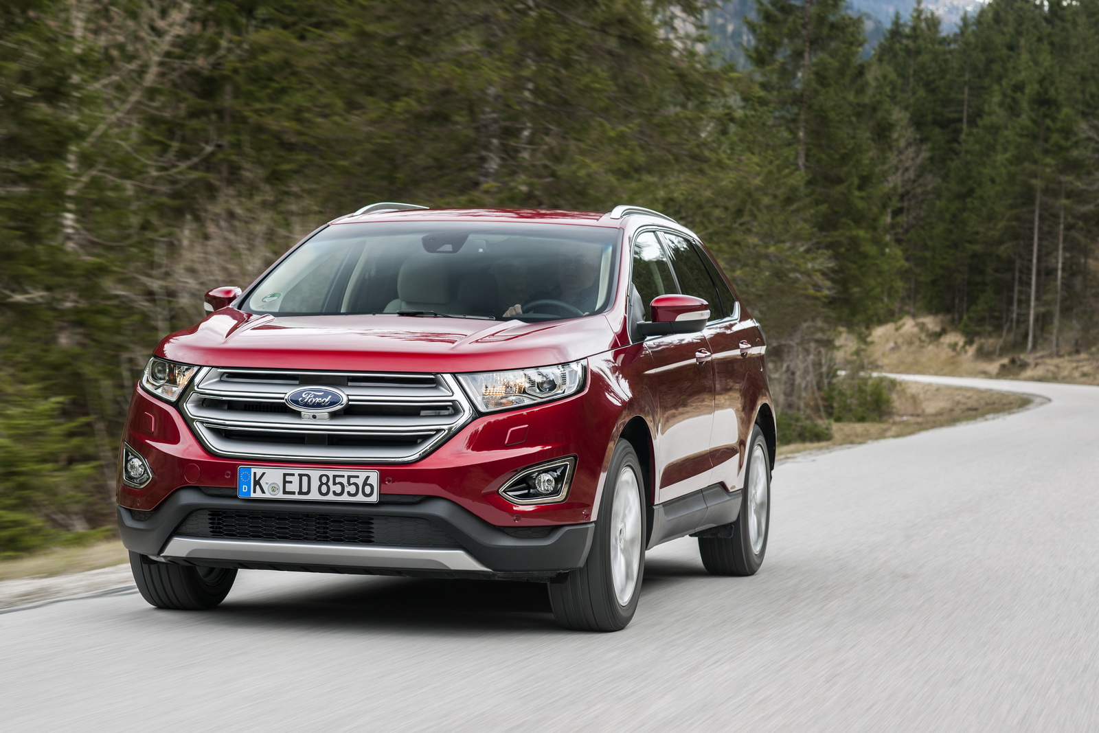 Europe's Ford Edge Premium SUV Hits The Market | Carscoops