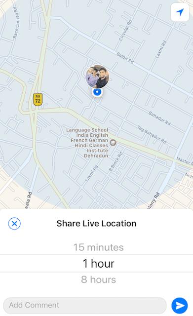 Begini Nih Cara Berbagi Lokasi Live di WhatsApp Dari iPhone dan Android 3