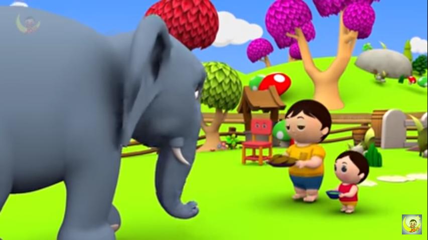 Kids Activities: Hathi Raja Kahan Chale - Hindi Rhymes