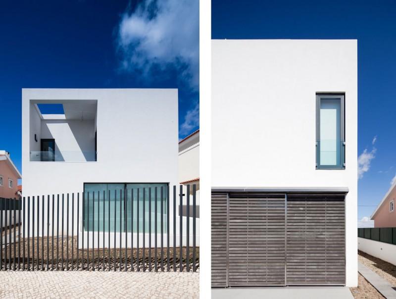 Hogares frescos casa minimalista por i da arquitectos for Modelos de casas alargadas