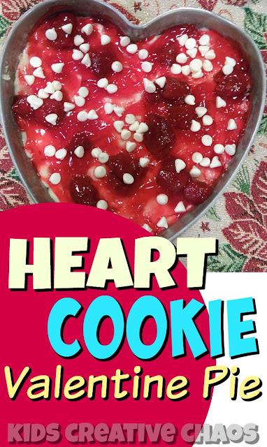 Super Easy Valentine's Recipe: Heart Cookie