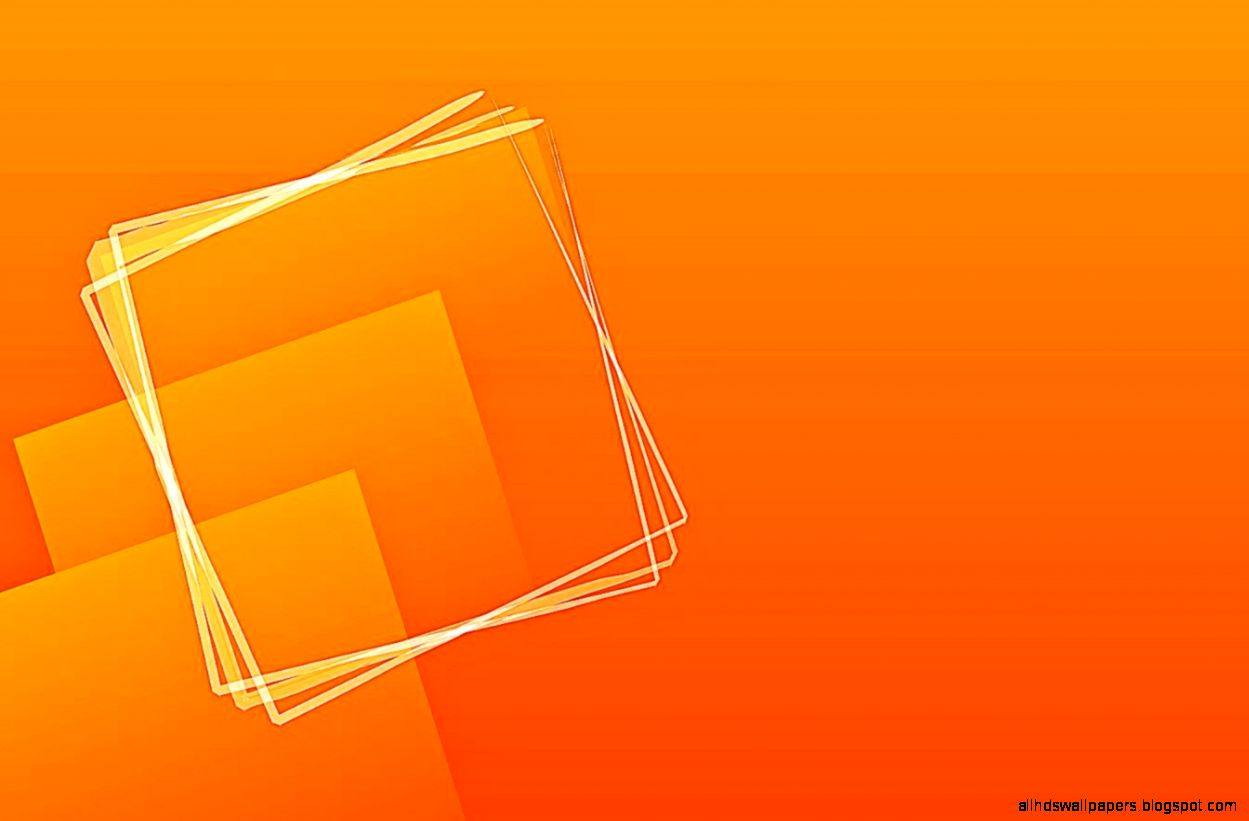 Rectangle Orange Basic Background | All HD Wallpapers