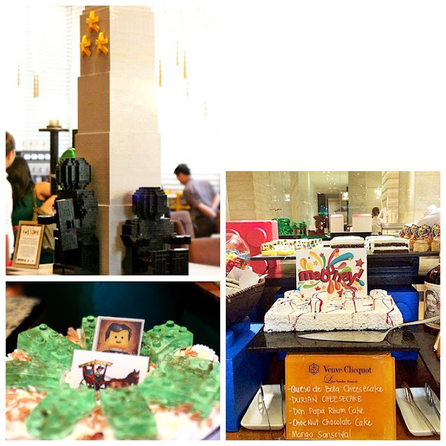 Lego Awesome Sunday Brunch Buffet at The Fairmont and Raffles Hotel's Spectrum