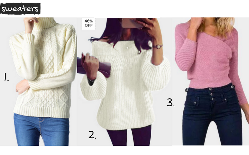casual ladies sweaters online