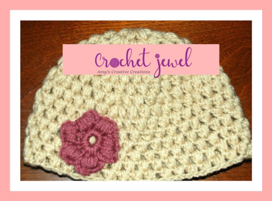 Amys Crochet Creative Creations Crochet Puff Stitch Hat 12 Month