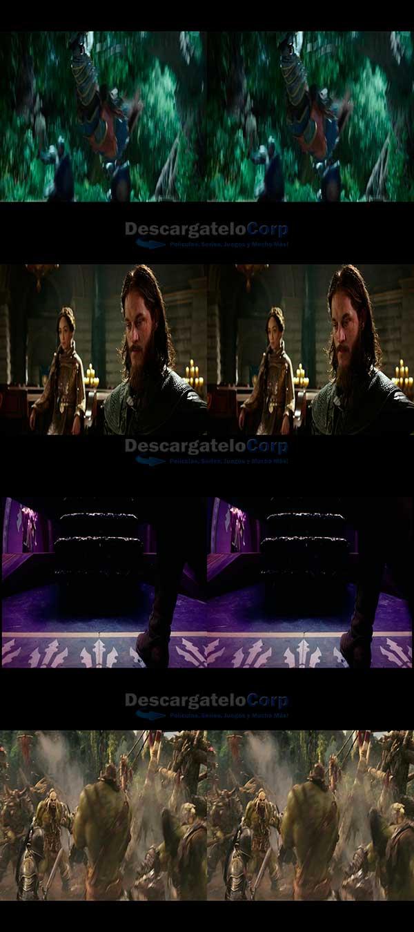 Warcraft The Beginning 3D Español Latino