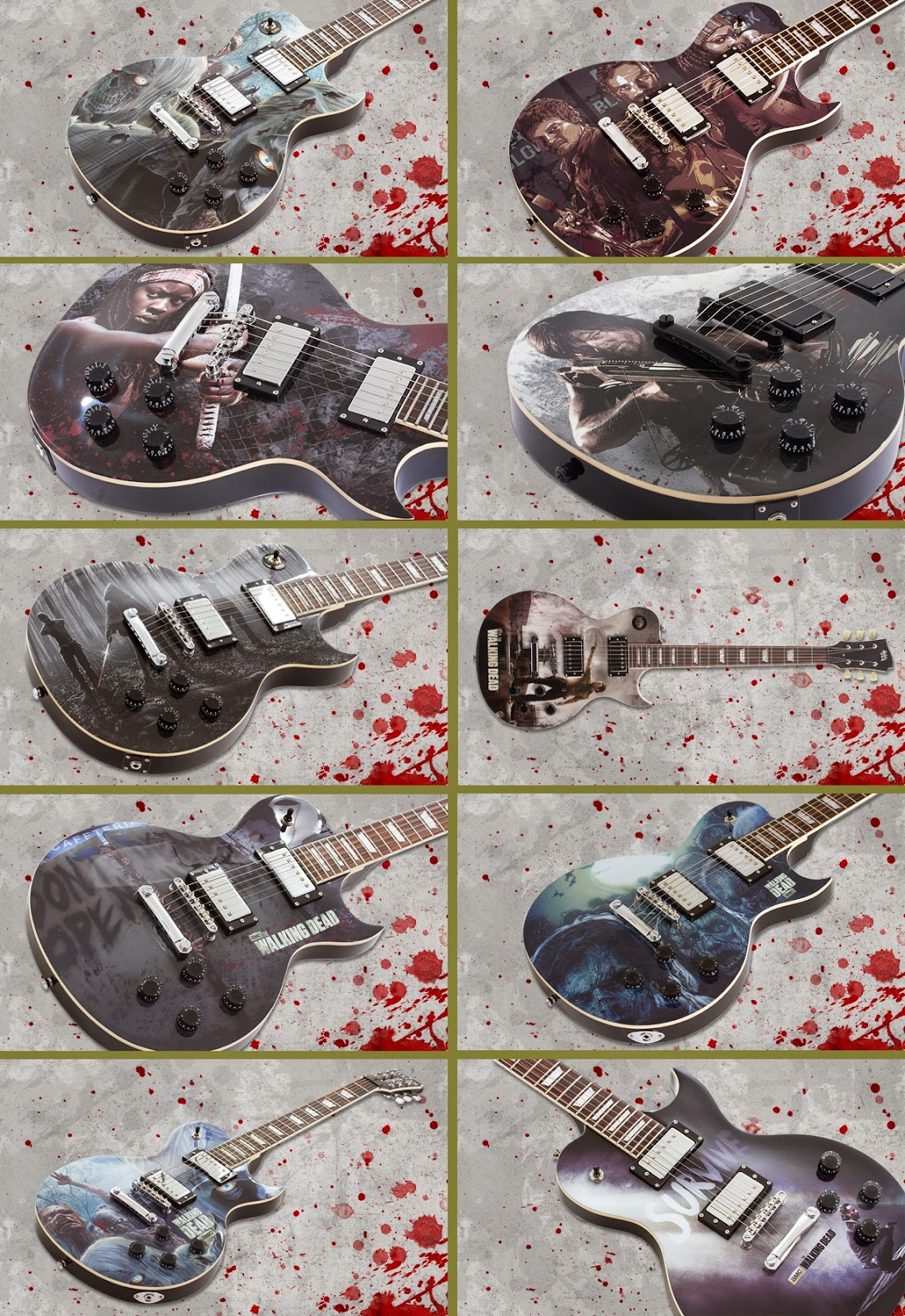 TWD Artist Series Guitar