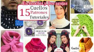 15 Cuellos de Abrigo Para Tejer / Colección