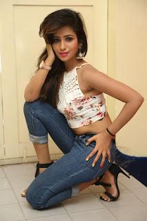 Deekshita Parvathi in a short crop top and Denim Jeans Spicy Pics Beautiful Actress Deekshita Parvathi January 2017 CelebxNext (101).JPG
