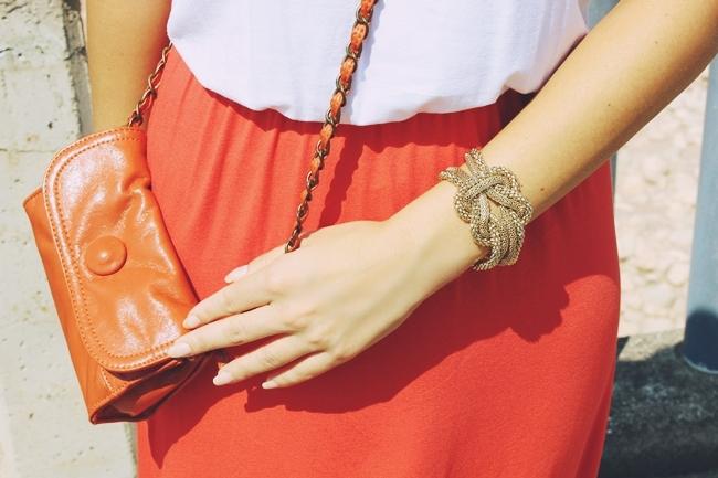 Oriflame gold bracelet