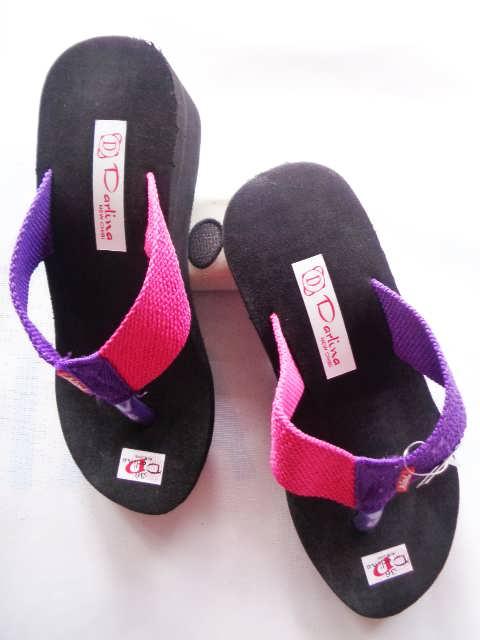 Wedges Lisban Simplek GSJ - Grosir Sandal Wedges Langsung dari Pabrik
