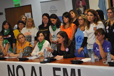 Mujeres sindicalistas rechazaron el proyecto del gobierno de Mauricio Macri sobre equidad de género