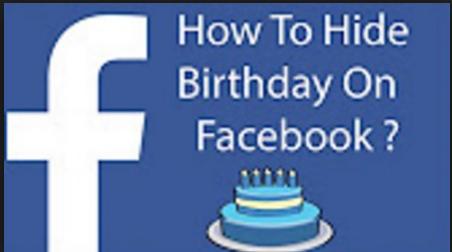 Hide My Birthday on Facebook